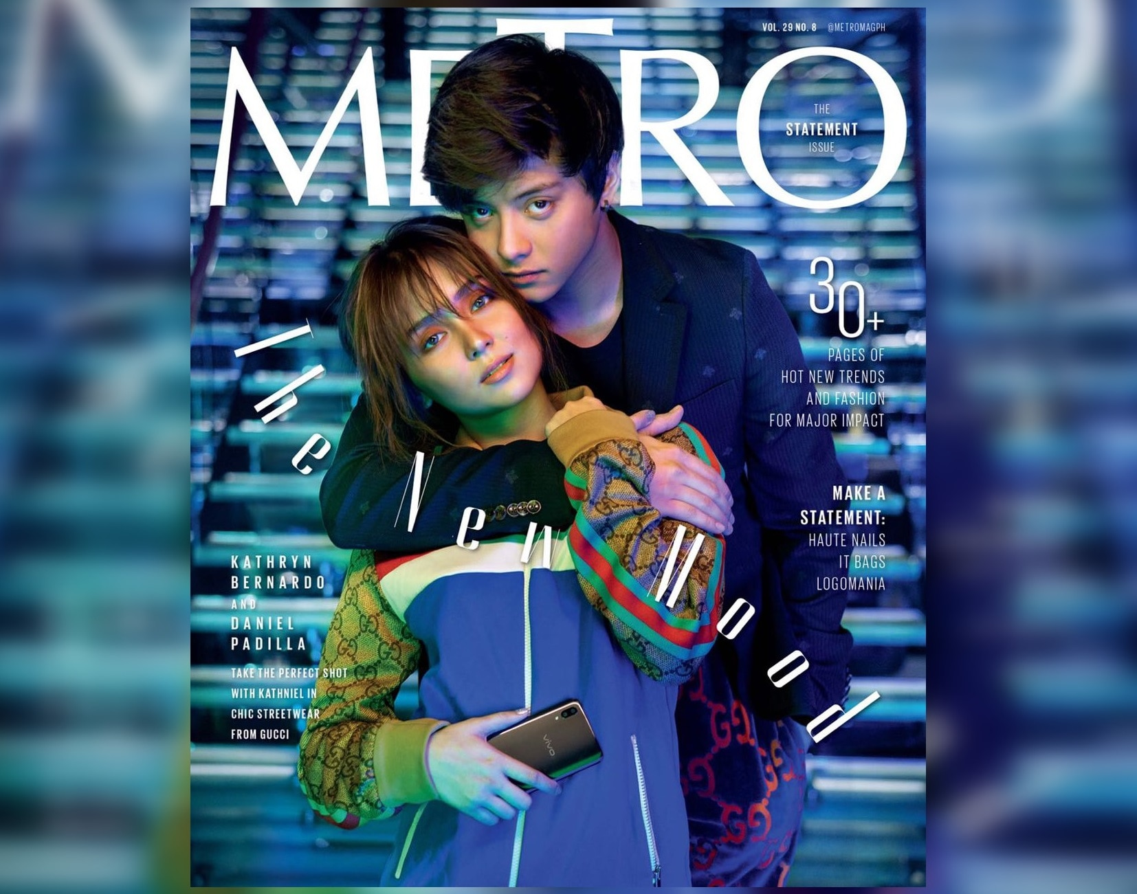 KathNiel pops in as cover of Metro's statement issue