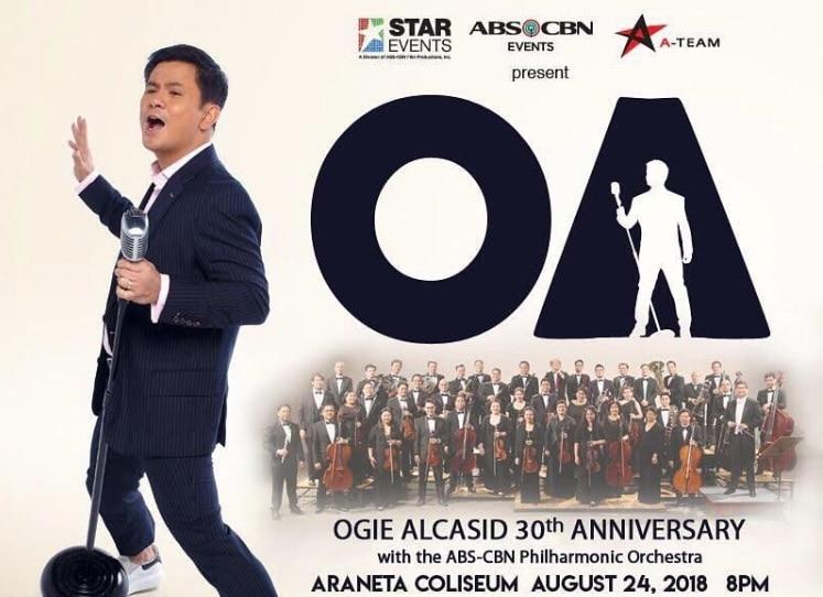 "Ogie celebrates 30th milestone with ""OA"" concert"
