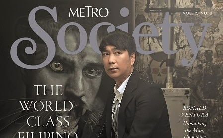 Renowned artist Ronald Ventura graces Metro Society's world-class Filipino issue