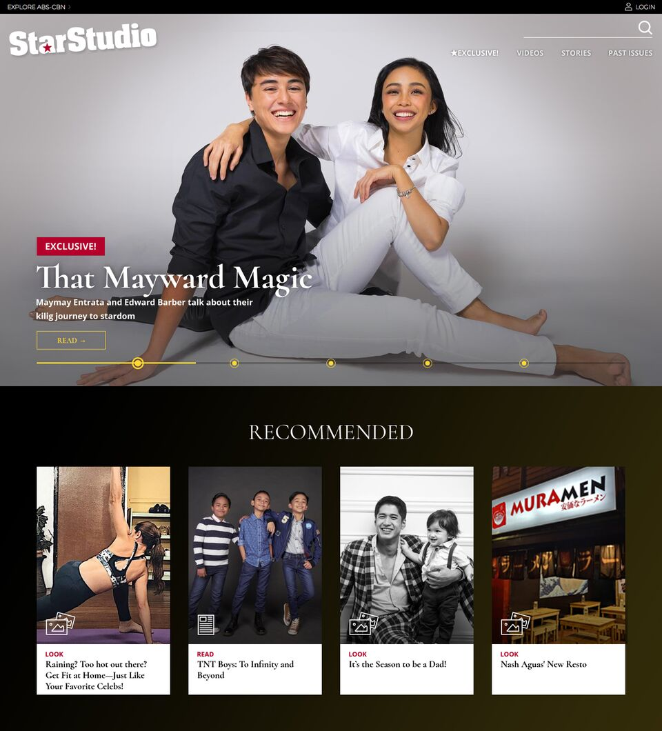 StarStudio ph homepage