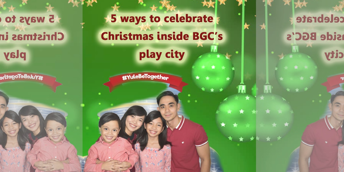 5 ways to celebrate Christmas in BGC's play city