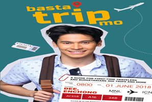 "Enchong shares budget travel tips in ""Basta Trip Mo"" book"