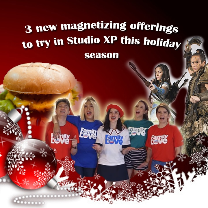 3 new magnetizing offerings to try in Studio XP this holiday season
