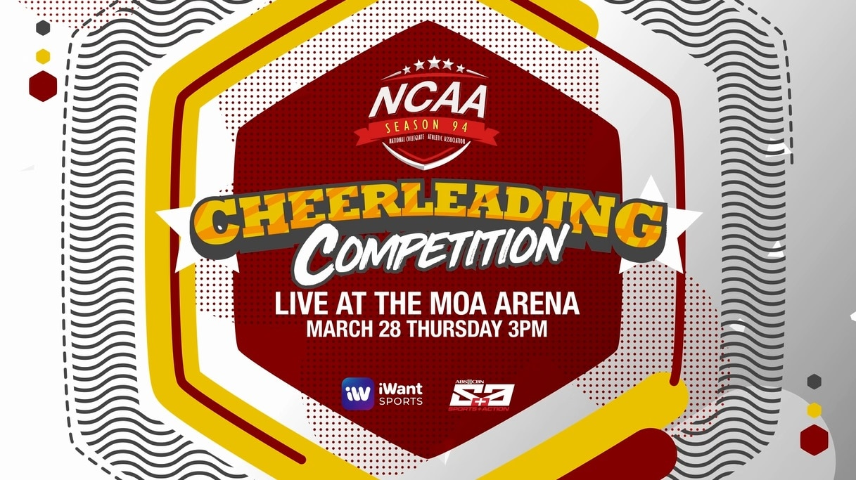 Arellano U goes for NCAA Cheerleading three-peat on ABS-CBN S+A