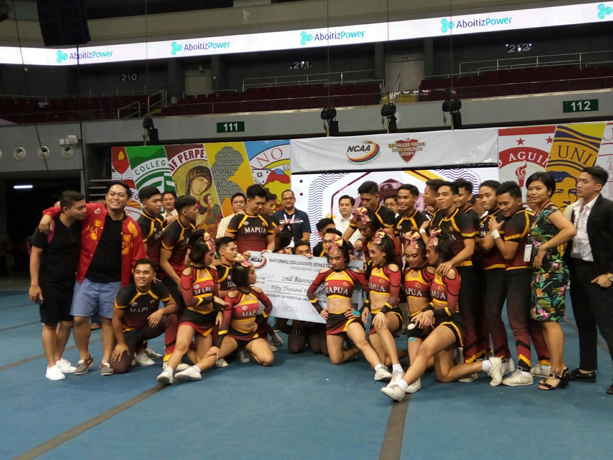 The Mapua Cheerping Cardinals nail a second runner up finish
