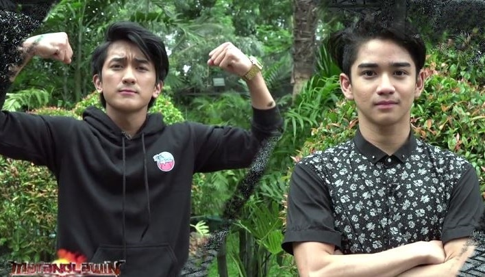 Makisig and Zaijan of Bagani take their superpowers to Matanglawin