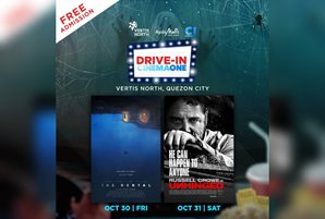 Cinema One stages eerie Halloween drive-ins this weekend