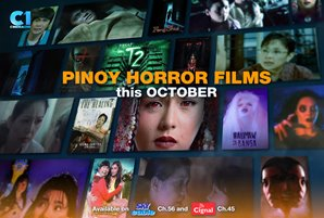 Pinoy horror films take centerstage on Cinema One this October