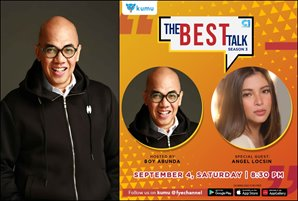 "Boy Abunda's ""The Best Talk"" marks new season; Angel Locsin takes the hot seat in premier episode"