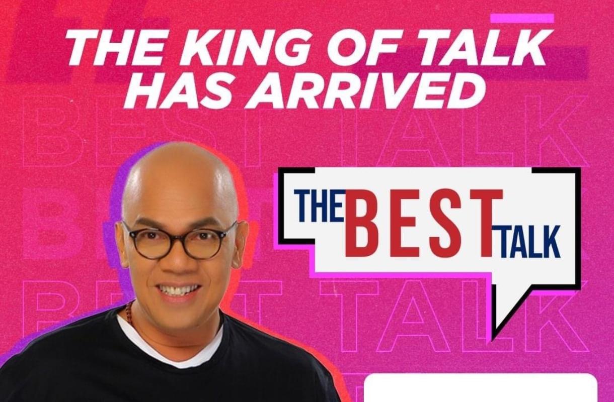 """Boy Abunda brings """"The Best Talk"""" online via FYE Channel"""