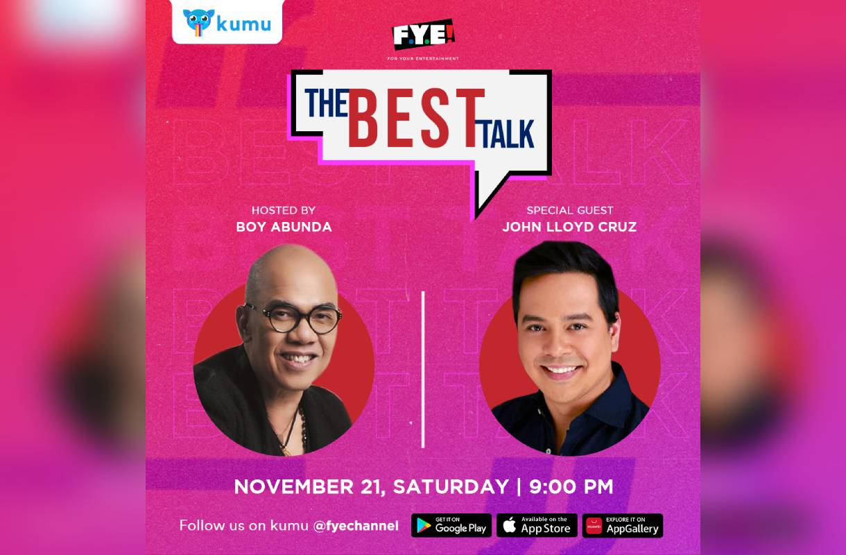 """John Lloyd to have the most awaited conversation with Boy in """"The Best Talk"""""""