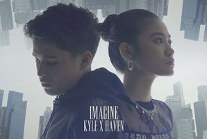 "Kyle, Singaporean artist Haven launch collab single ""Imagine"""