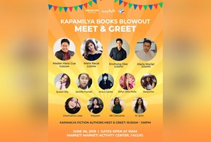 Meet your favorite authors at the Kapamilya Books Blowout