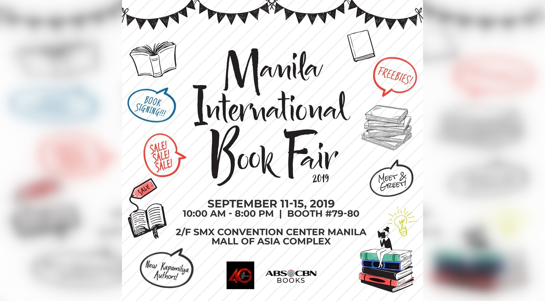 10 Kapamilya books to be launched at MIBF 2019