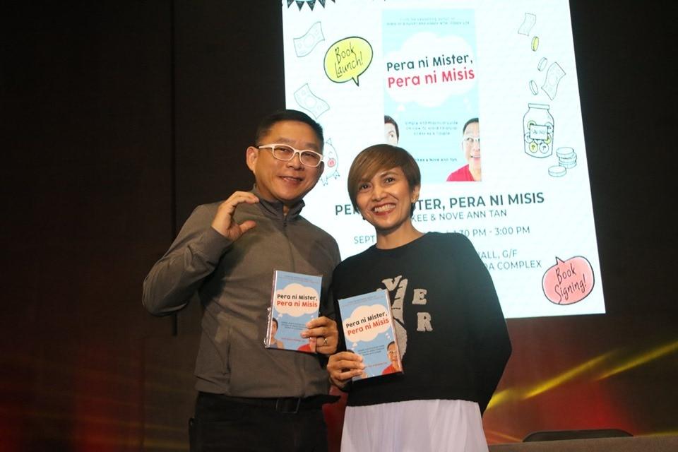 "Chinkee and Nove-Ann Tan launch new book ""Pera ni Mister, Pera ni Misis"""