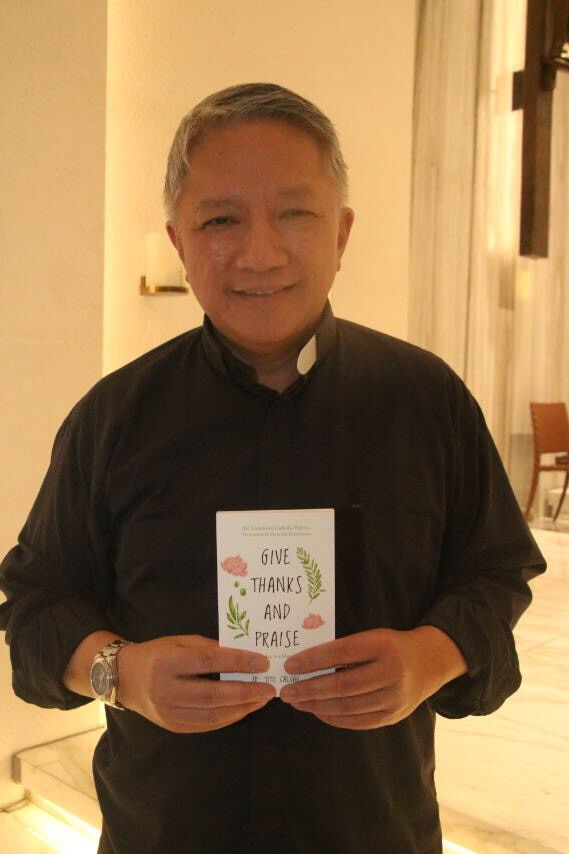 Fr  Tito Caluag, author of Give Thanks and Praise