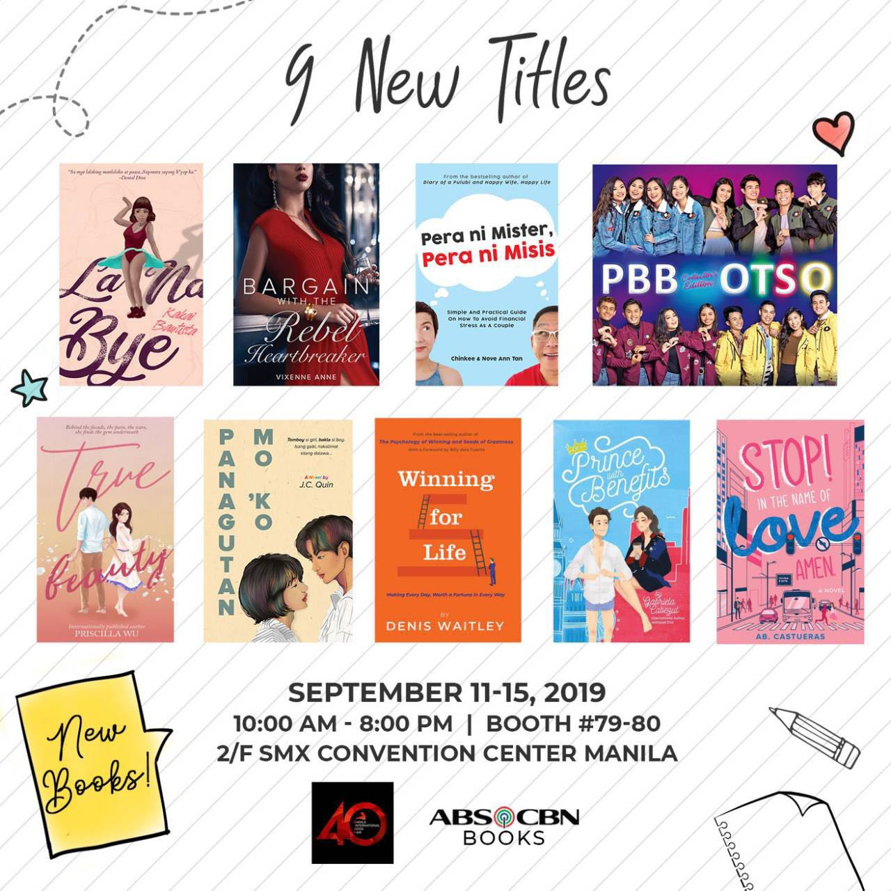 NEW READS FROM ABS CBN BOOKS
