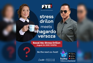 "Ces Drilon meets 'Haggardo Versoza' in upcoming ""Bawal Ma-Stress Drilon"" on FYE Channel"