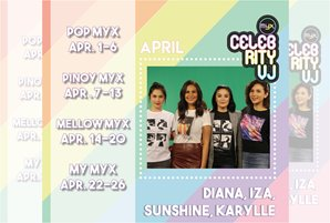 Diana, Iza, Karylle, and Sunshine take over MYX as Celebrity VJs