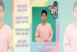 UAAP player Ricci Rivero steps up as MYX Celebrity VJ for March