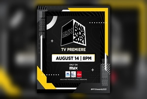 Record-breaking MYX Awards 2021 premieres on MYX Channel this Saturday