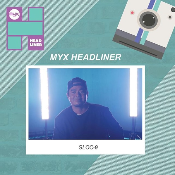 Gloc 9 as MYX Headliner