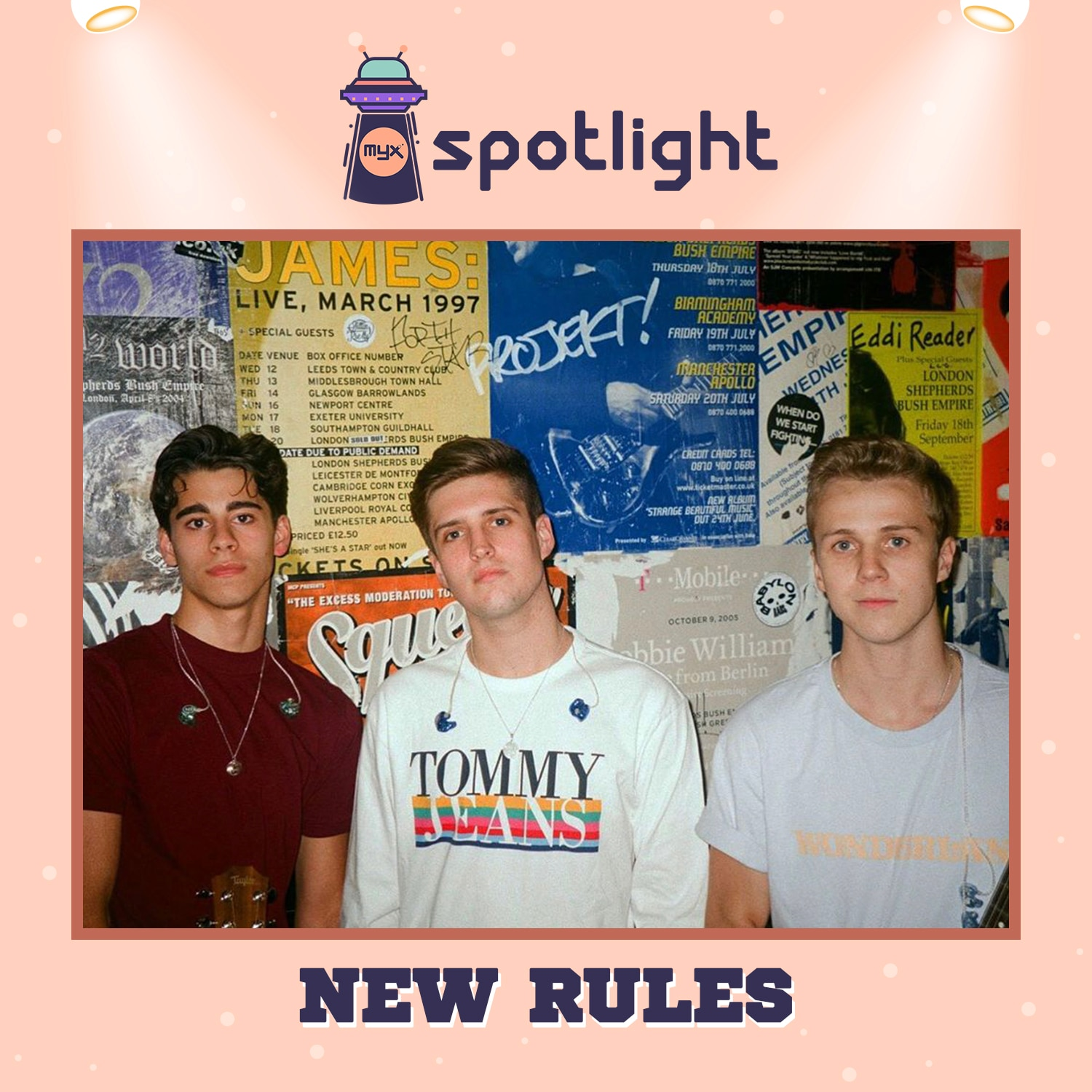 MYX Spotlight artist New Rules