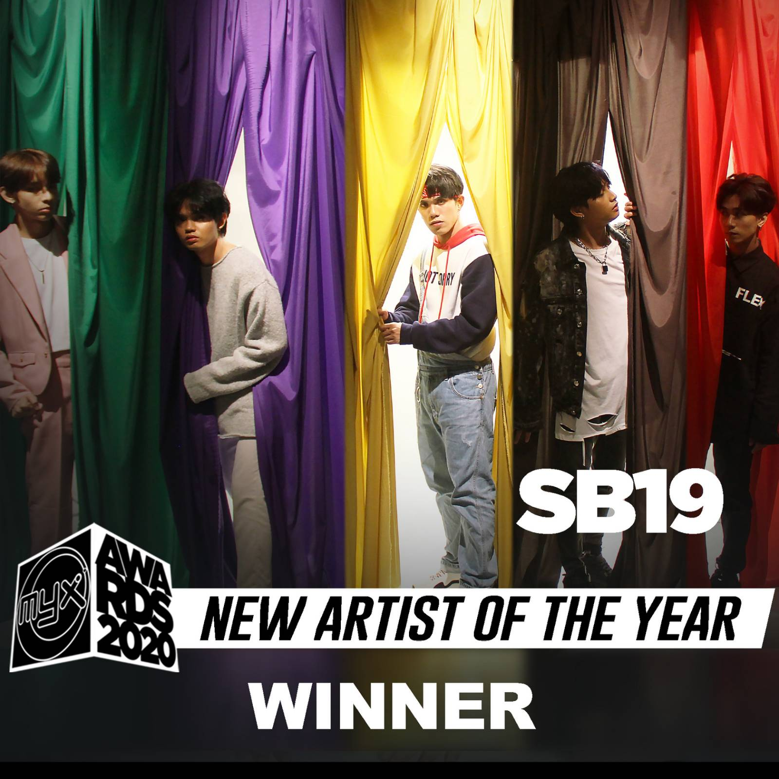 SB19 is New Artist of the Year