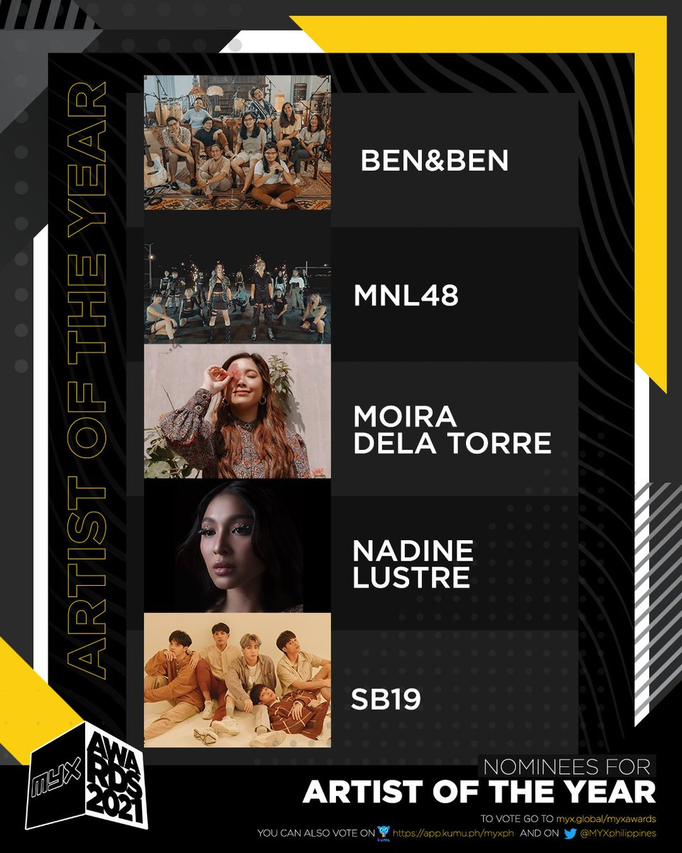 Artist of the Year nominees