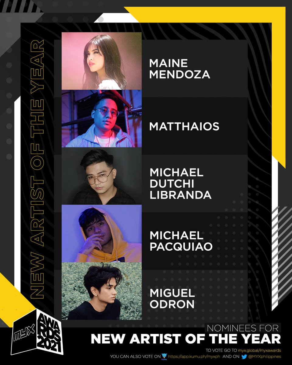 New Artist of the Year nominees