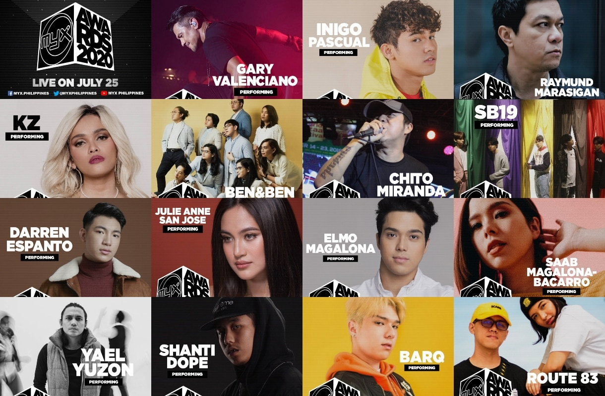 MYX Awards lauds hitmakers, holds virtual celebration this Saturday