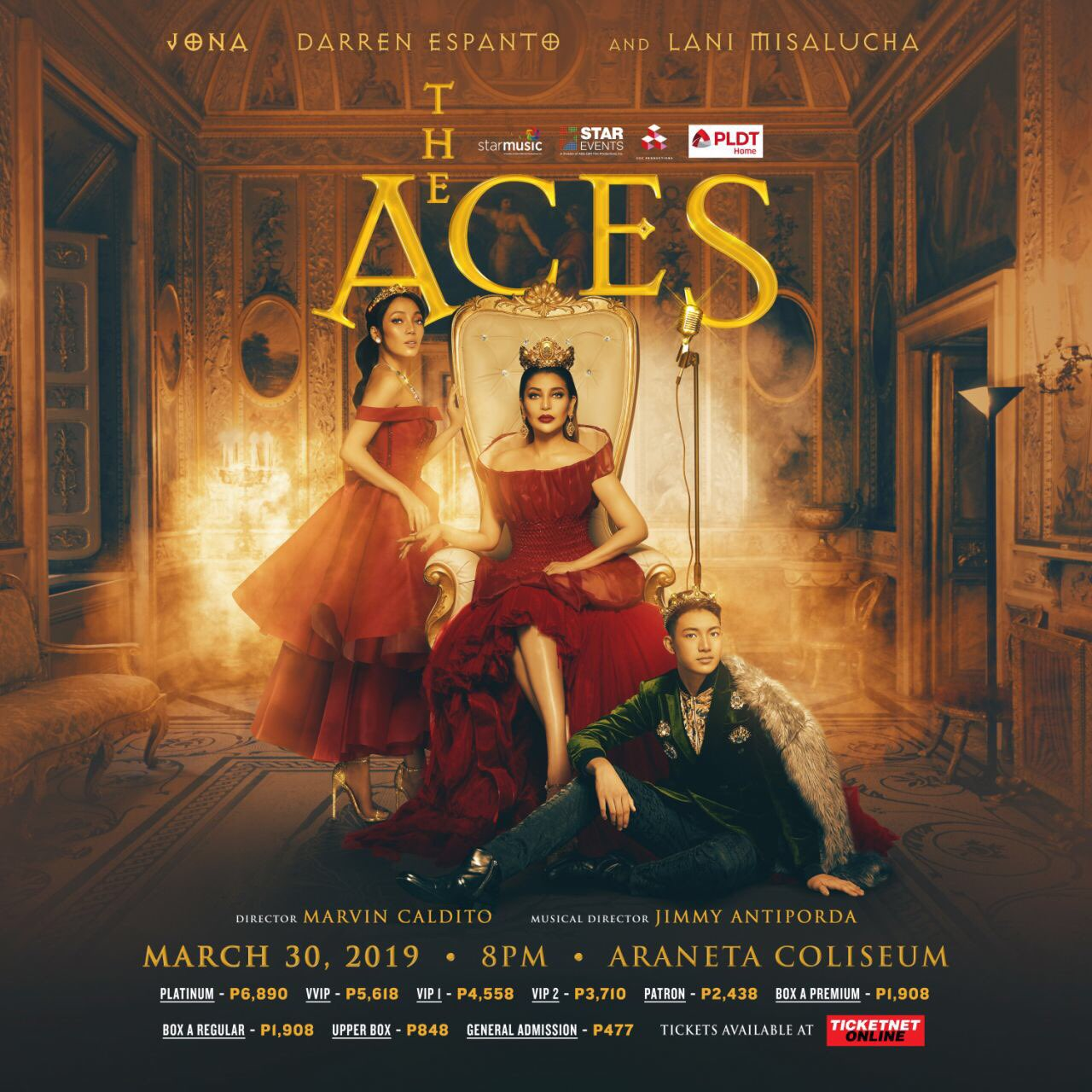 The ACES Concert with Jona, Darren Espanto, and Lani Misalucha