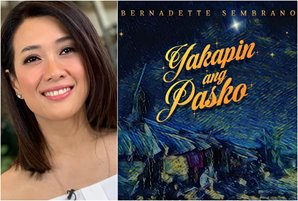 "Bernadette Sembrano captures Pinoy faith, spurs Christmas hope in ""Yakapin Ang Pasko"" single"