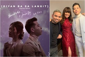 "Morissette, Jason, and KIKX to drop midnite remix of ""Diyan Ba Sa Langit"""