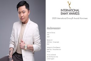 """Jake and Charice"" docu film earns 2020 International Emmys nod"