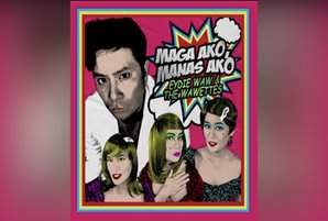 "Ogie introduces Eydie Waw and The Wawettes in funny new track ""Maga Ako, Manas Ako"""