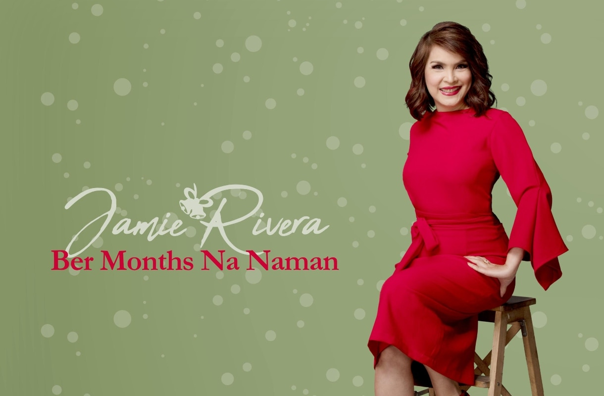 """Jamie sparks Filipino Christmas spirit with song """"Ber Months Na Naman"""""""