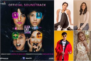 """""""Click, Like, Share"""" soundtrack to feature music from Kyle, Sab, Arvey, and Angela"""
