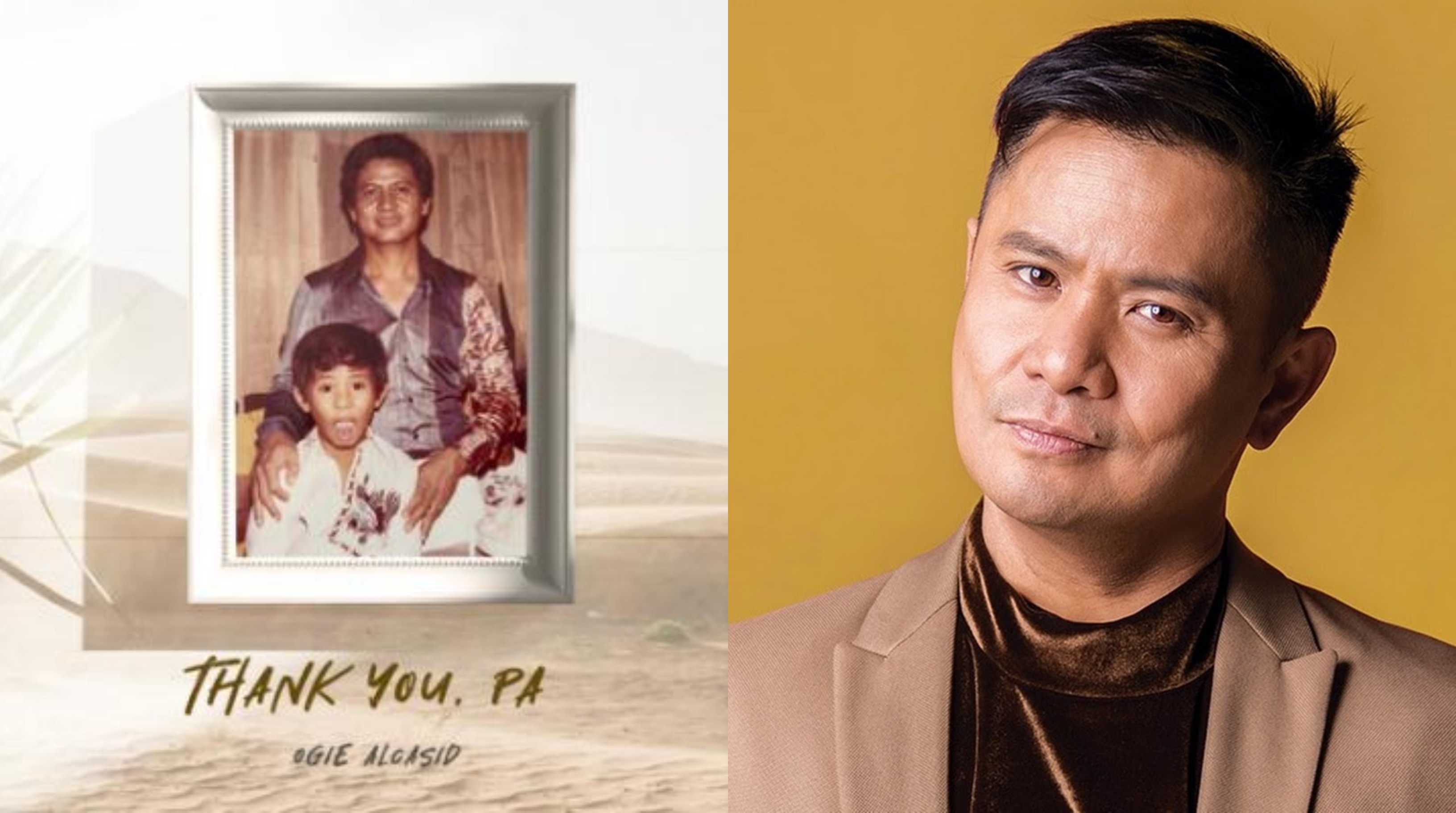 """Ogie drops ode to dads """"Thank You, Pa"""""""