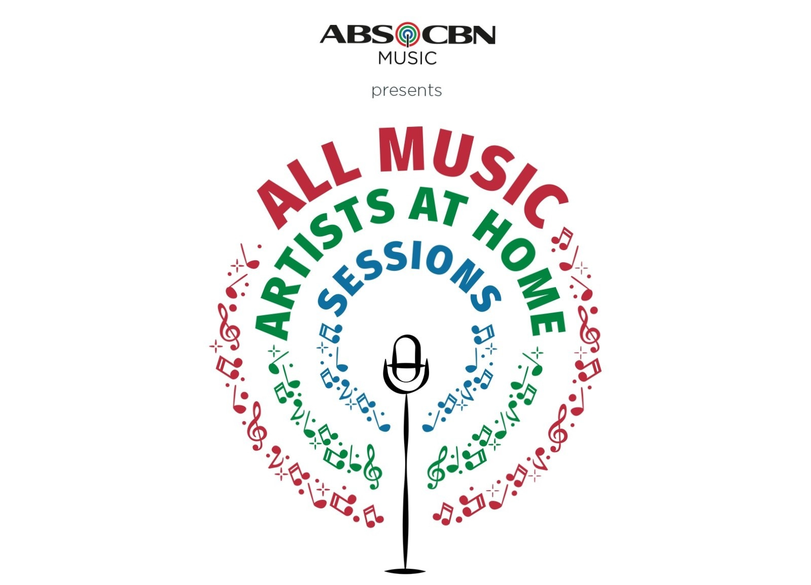 """ABS-CBN stages digital concert series in """"All Music: Artists at Home Sessions"""""""
