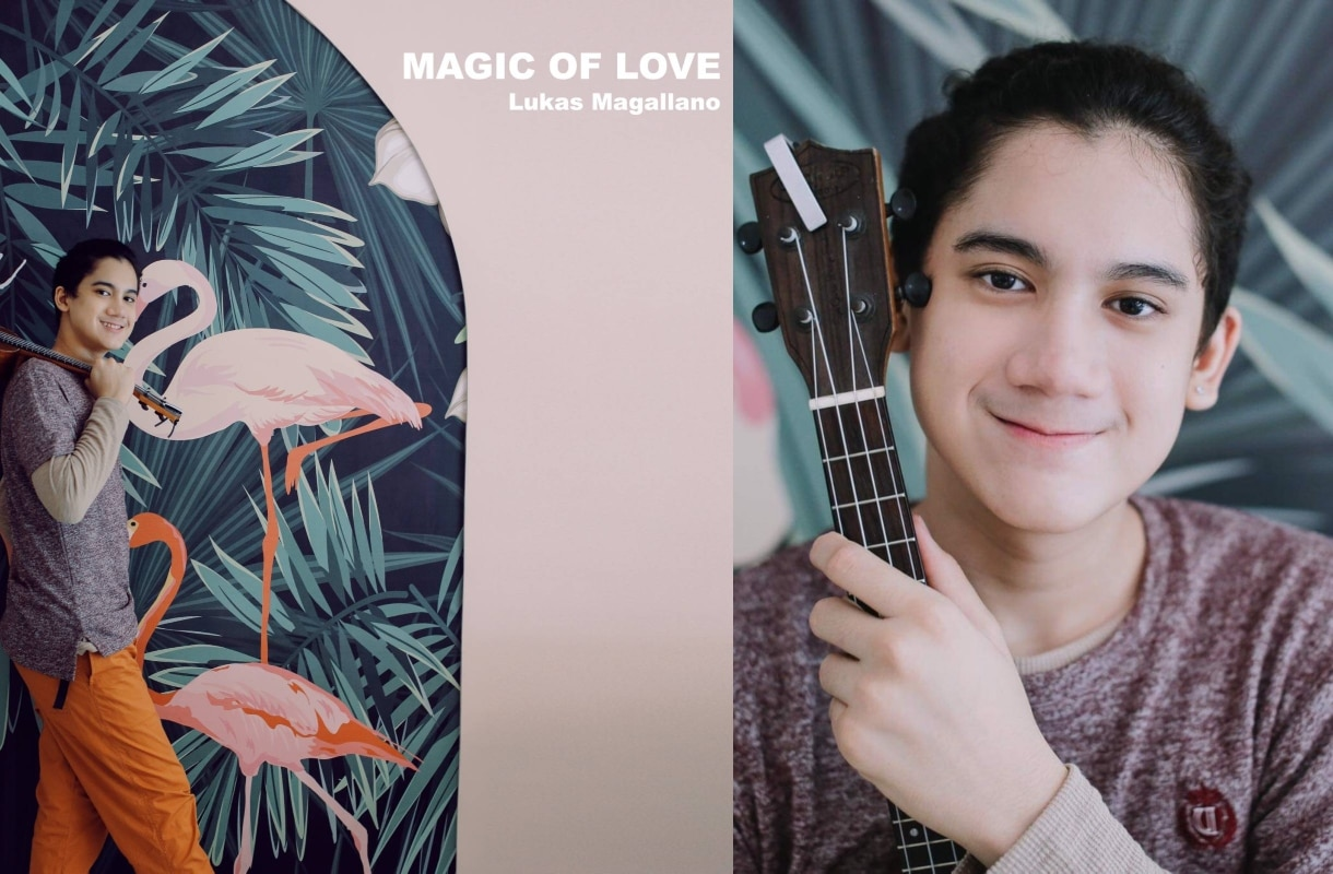 """""""The Voice Teens"""" alum Lukas Magallano releases debut single """"Magic of Love"""""""