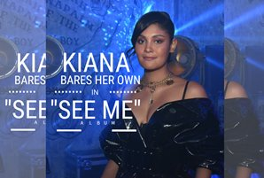 "Kiana bares her own in ""See Me"" album"