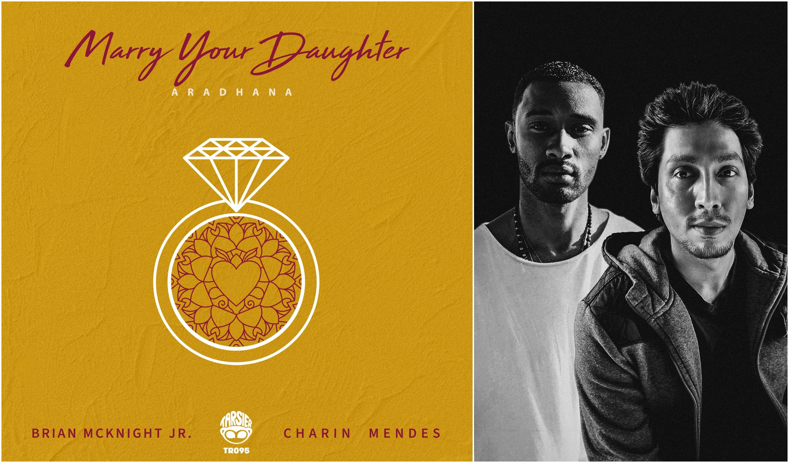 """Brian Mcknight Jr. and Sri Lankan Charin Mendes team up for """"Marry Your Daughter (Aradhana)"""""""