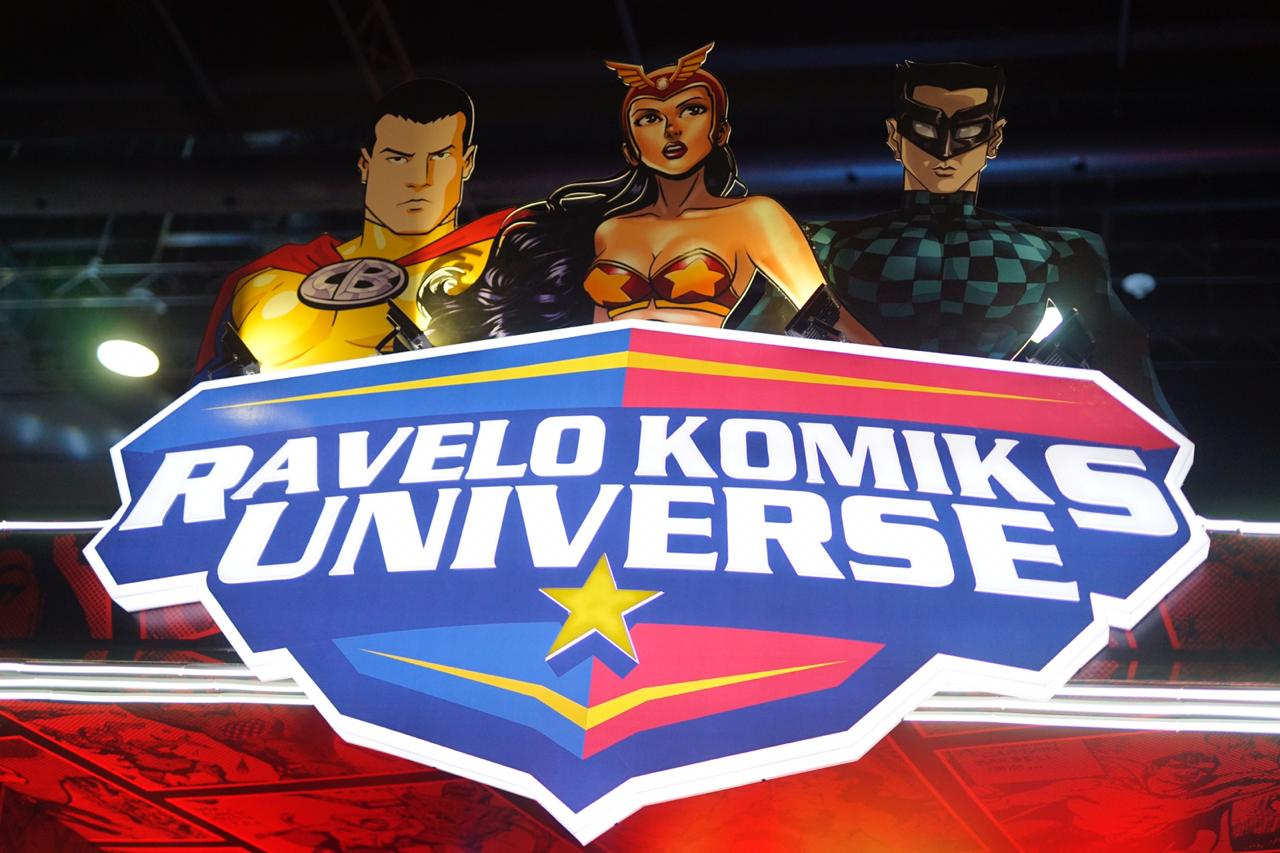 Check out the Ravelo Komiks Universe at TOYCON 2019