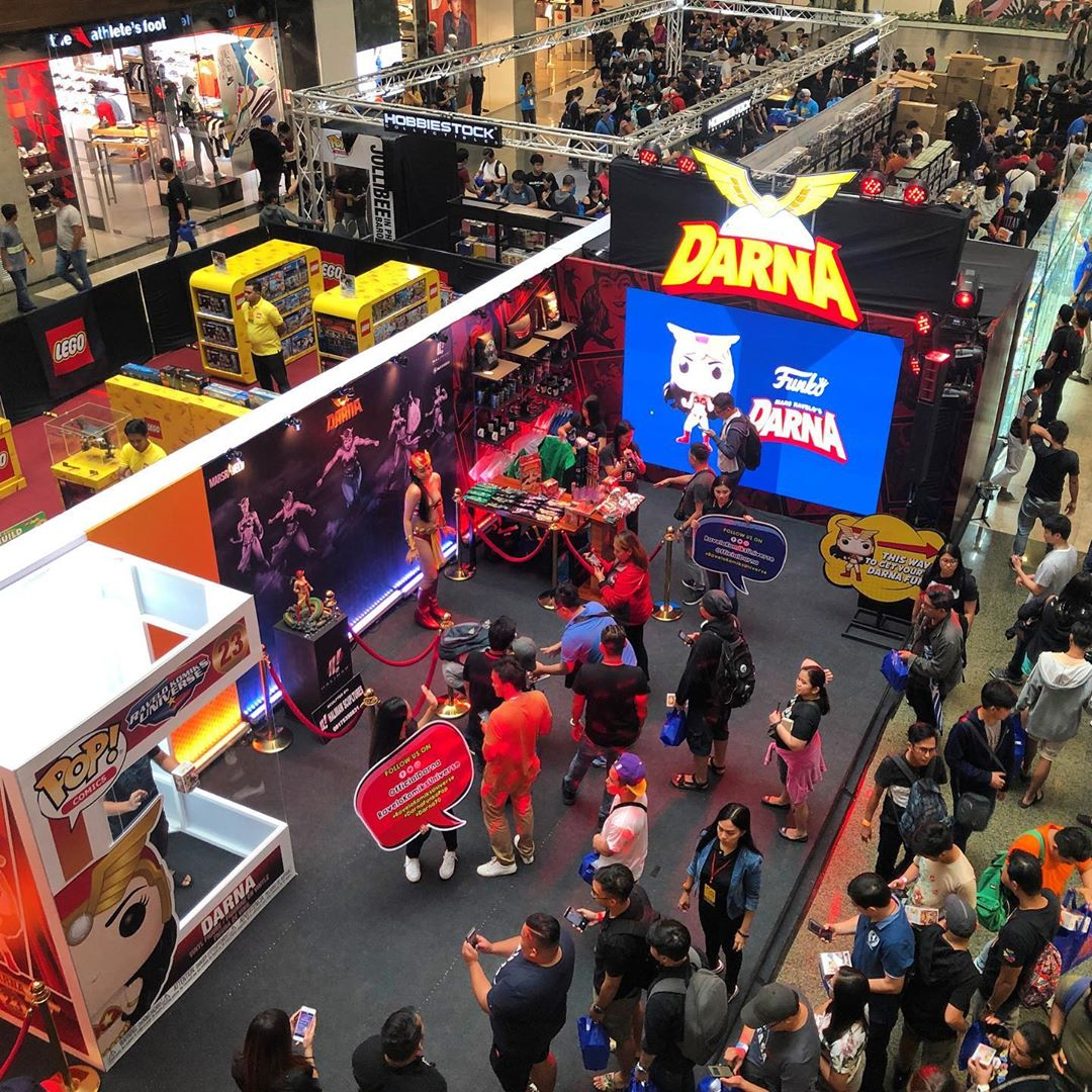 Darna booth at Fun Con 2019 (Courtesy of Official Darna IG)
