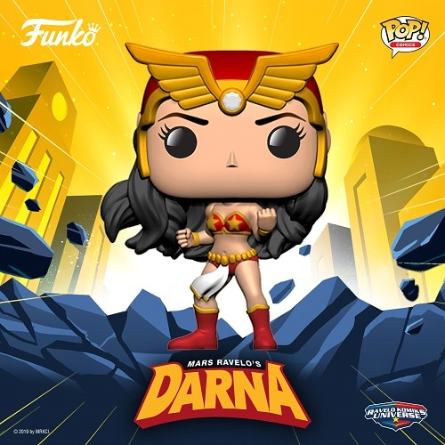 Funko x Darna (Courtesy of Official Darna IG)
