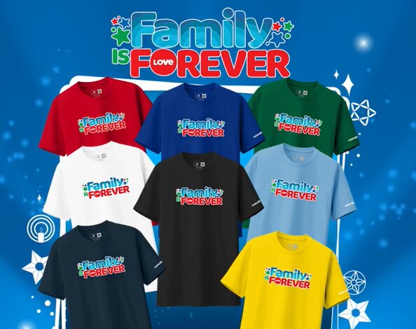 ABS CBN's Family is Forever shirts
