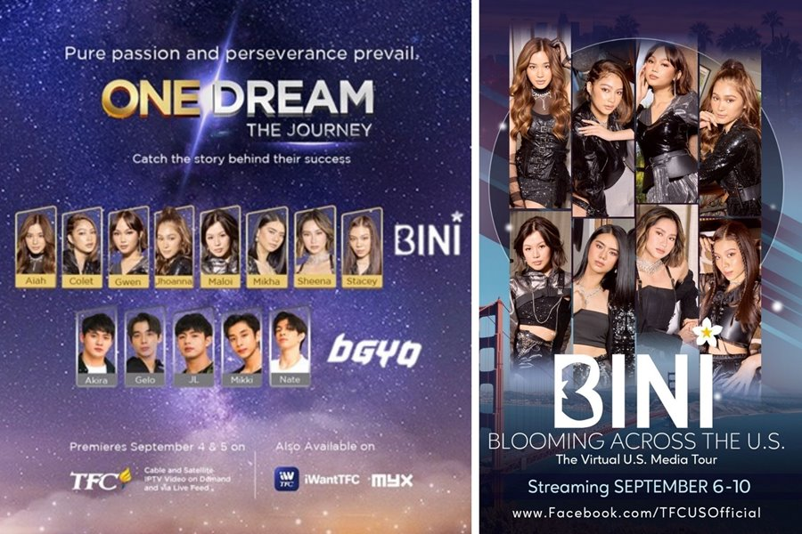 """P-Pop's Rising Sibling Royalty BGYO and BINI Unveil New Docu Series, """"One Dream"""", Virtual U.S. Media Tour, New Releases and Joint Concert in November"""