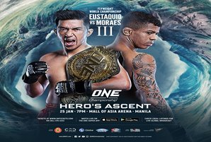 "Eustaquio-Moraes III headlines ""Hero's Ascent"" LIVE on ABS-CBN S+A"