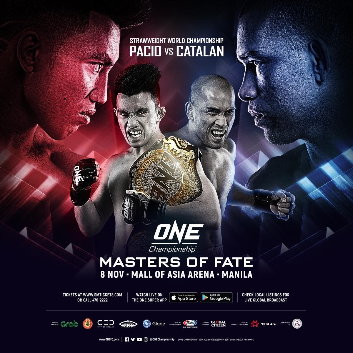 ONE Masters of Fate will hold the first ever All Filipino world title match in MMA history